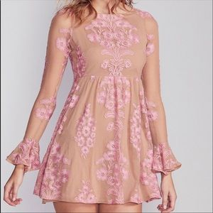 For love and lemons temecula embroidered dress
